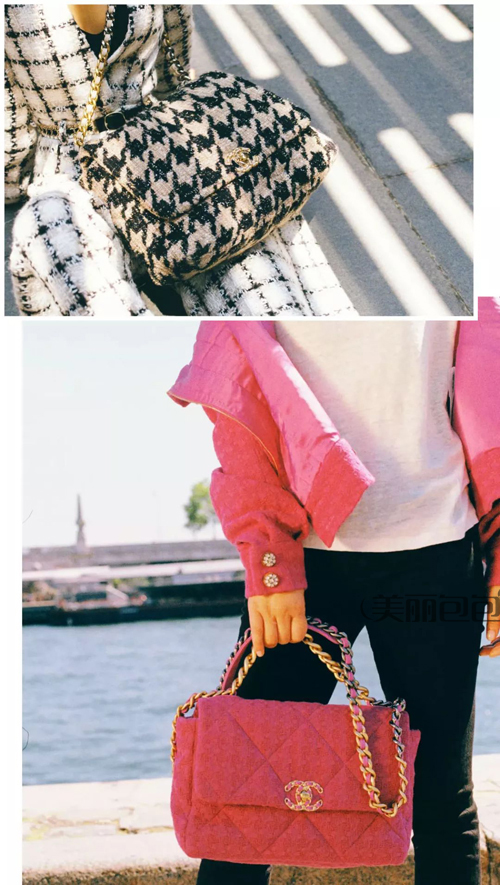 香奈儿秋冬新款19号手袋来了 刘雯 周迅...明星都背起来